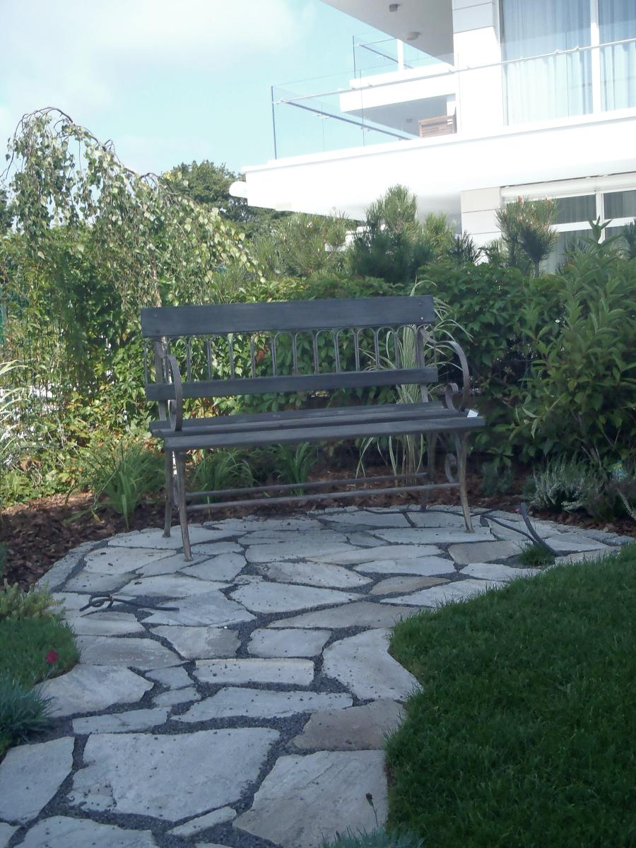 Kamień w ogrodzie. Projekt i realizacja. Stylowe ogrody.