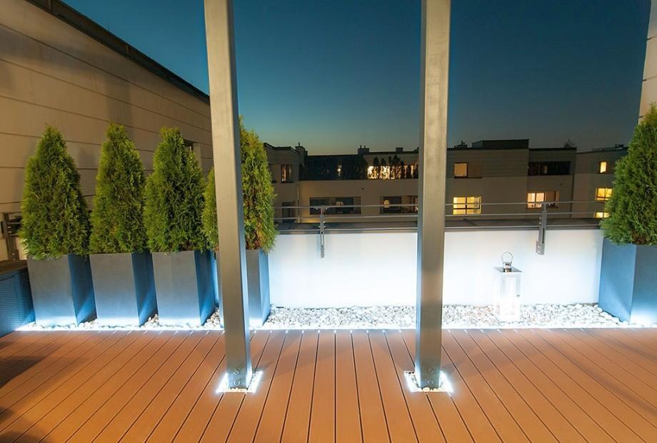 Elektryka w ogrodzie. Oświetlenie ogrodu. Podgrzewane podjazdy.