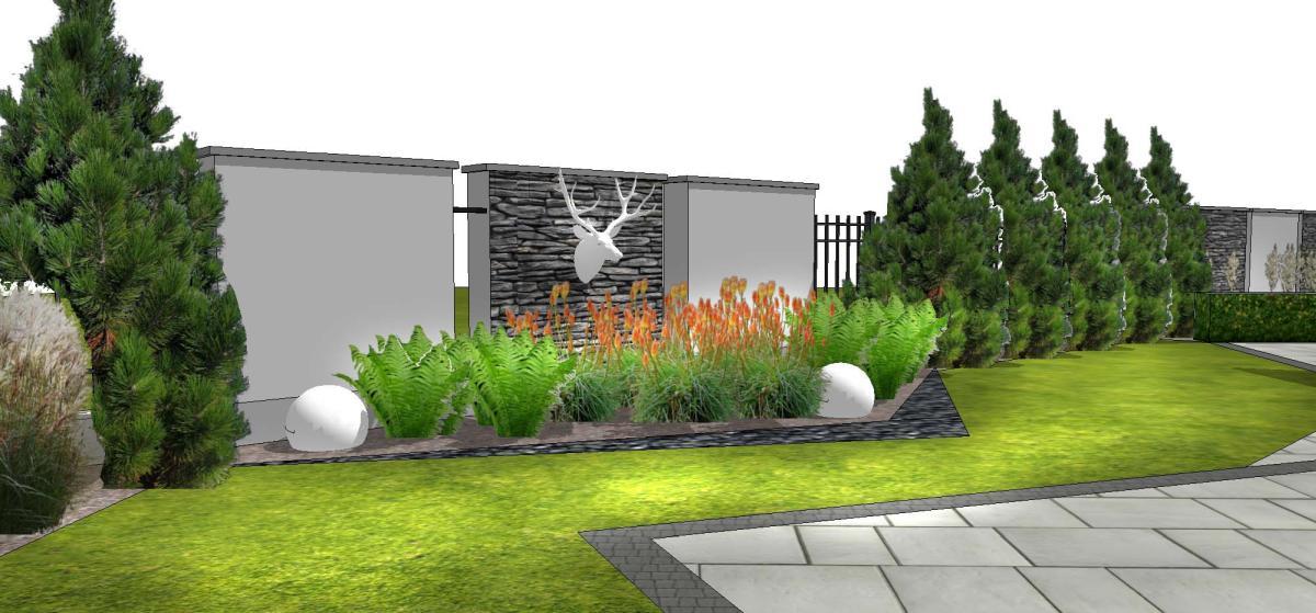 projekty ogrodow stylowe ogrody